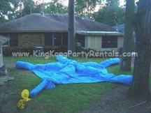 inflatable tent rental, houston, tx - kingkongpartyrentals.com