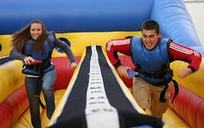 bungee run rental, houston, tx - kingkongpartyrentals.com