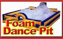 foam pit party machine rental, houston, tx - kingkongpartyrentals.com