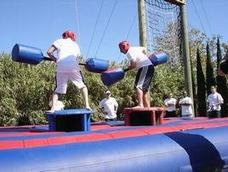 gladiator joust rental, houston, tx - kingkongpartyrentals.com