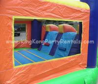 3 in 1 toddler moonwalk rental, houston, tx - kingkongpartyrentals.com