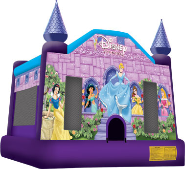 disney princess moonwalk rental, houston, tx - kingkongpartyrentals.com