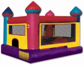 toddler moonwalk and ballpit combo rental, houston, tx - kingkongpartyrentals.com