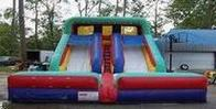 18ft dual lane waterslide rental, houston, tx - kingkongpartyrentals.com