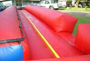 34ft double lane slip n slide rental, houston, tx - kingkongpartyrentals.com
