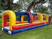 single lane slip n slide rental, houston, tx - kingkongpartyrentals.com
